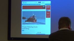 N fiskarlag advises against taretråling